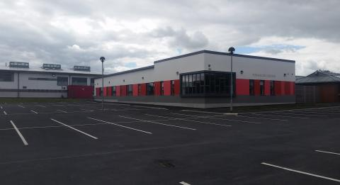 Construction of Extension: PobalScoil Iosolde